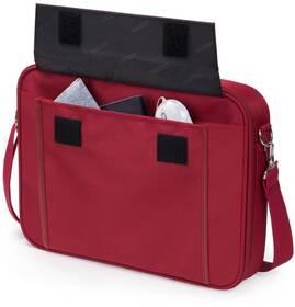 Brašna na notebook DICOTA Multi BASE 15 - 17.3 (D30917) červená
