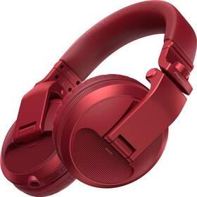 Sluchátka Pioneer DJ HDJ-X5BT-R (HDJ-X5BT-R) červená