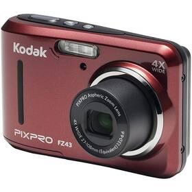 Digitální fotoaparát Kodak Friendly Zoom FZ43 (819900012439) červený