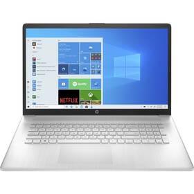 Notebook HP 17-cn0605nc (4A6F4EA#BCM) stříbrný