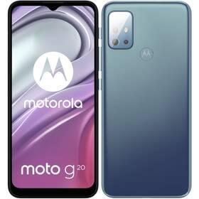 Mobilní telefon Motorola Moto G20 (PANH0005PL) modrý