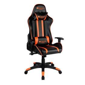 Herní židle Canyon Fobos (CND-SGCH3) černá/oranžová