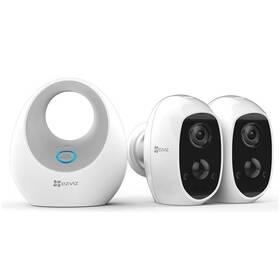 Kompletní sada EZVIZ Battery Camera Duo Pack (2x C3A+1x W2D) (CS-W2D-B2-EUP)