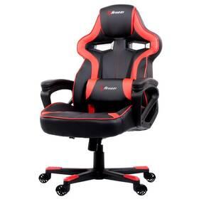 Herní židle Arozzi MILANO (MILANO-RD) černá/červená