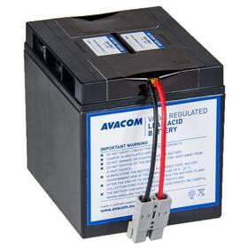 Akumulátor Avacom RBC7 - náhrada za APC (AVA-RBC7) černá