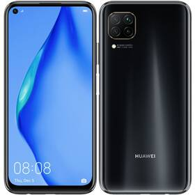 Mobilní telefon Huawei P40 lite (HMS) - Midnight Black (SP-P40L128DSBOM)