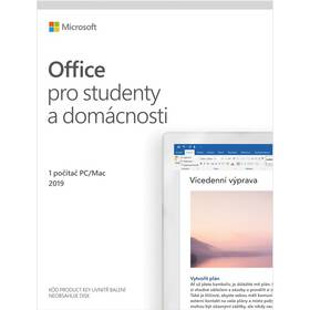 Software Microsoft Office 2019 pro studenty a domácnosti CZ (79G-05146)