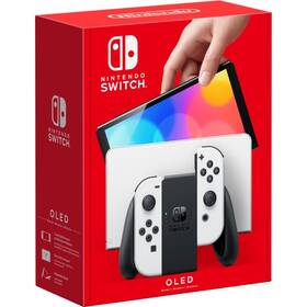 Herní konzole Nintendo SWITCH OLED Model (White Set) (NSH008)