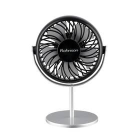 Ventilátor stolní Rohnson R-809 černý/stříbrný