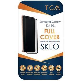 Tvrzené sklo TGM Full Cover na Samsung Galaxy S21 5G (TGMFCSAMS21) černé