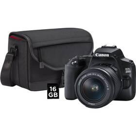 Digitální fotoaparát Canon EOS 250D + 18-55 + SB130 + 16GB karta (3454C010) černý
