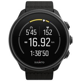 GPS hodinky Suunto 9 Baro - Charcoal Black Titanium (SS050564000)