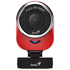 Webkamera Genius QCam 6000, Full HD (32200002408) červená