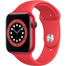 Chytré hodinky Apple Watch Series 6 GPS + Cellular, 40mm pouzdro z hliníku (PRODUCT)RED - (PRODUCT)RED portovní náramek (M06R3HC/A)