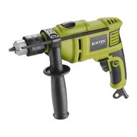 Příklepová vrtačka EXTOL Craft 401163 zelená