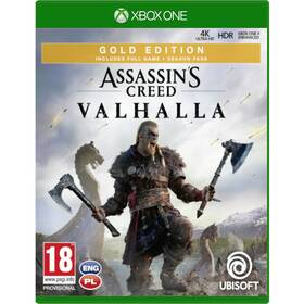 Hra Ubisoft Xbox One Assassin's Creed Valhalla Gold Edition (USX300313)