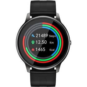 Chytré hodinky Niceboy X-fit Watch Pixel - ZÁNOVNÍ - 12 měsíců záruka černá