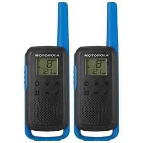 Vysílačky Motorola TLKR T62 (B6P00811LDRMAW) modrý