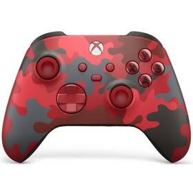 Ovladač Microsoft Xbox Series Wireless - Daystrike Camo Special Edititon (QAU-00017) červený
