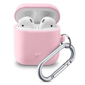 Pouzdro CellularLine Bounce pro Apple AirPods (2018/2019) (BOUNCEAIRPODSP) růžové