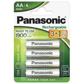 Baterie nabíjecí Panasonic Evolta AA, HR06, 1900mAh, Ni-MH, blistr 4ks (HHR-3MVE/4B1)