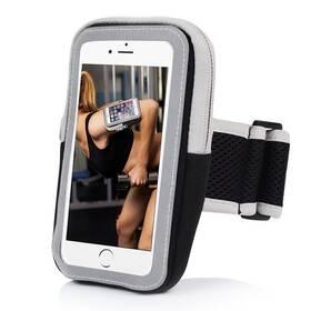 """Pouzdro na mobil sportovní Forever Zipper 6.0"""" černé"""
