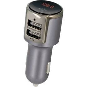 FM Transmitter Forever TR-340 stříbrný