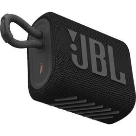 Přenosný reproduktor JBL GO3 černý