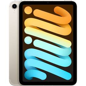 Dotykový tablet Apple iPad mini (2021) Wi-Fi 256GB - Starlight (MK7V3FD/A)