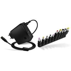 Napájecí adaptér Connect IT NomadPower univerzální pro notebooky 65 W + extra USB port (CNP-1650-BK)
