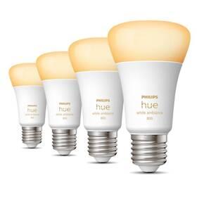 Žárovka LED Philips Hue Bluetooth, 6W, E27, White Ambiance, 4ks (8719514328280)