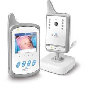 Dětská elektronická chůva BAYBY BBM 7020 digitální video bílá