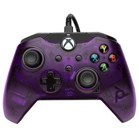 Gamepad PDP Wired Controller pro Xbox One/Series (049-012-EU-PR) fialový