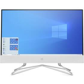 Počítač All In One HP 22-df0600nc (25N74EA#BCM) bílý