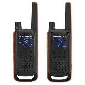 Vysílačky Motorola TLKR T82 (B8P00811EDRMAW) černý/oranžový
