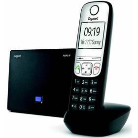 Domácí telefon Gigaset A690 IP (S30852-H2811-R601) černý