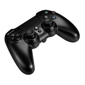 Gamepad Canyon s touchpadem pro PS4, bezdrátový (CND-GPW5) černý