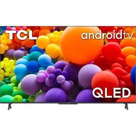 Televize TCL 75C725 stříbrná