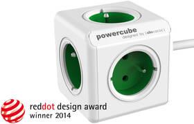 Kabel prodlužovací Powercube Extended 5x zásuvka, 1,5m zelený