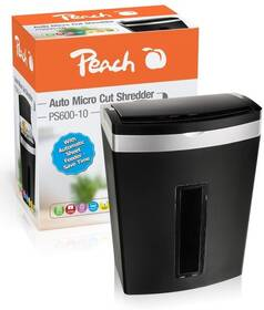 Skartovač Peach PS600-10, 7 listů, 20 l (PS600-10)