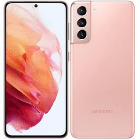 Mobilní telefon Samsung Galaxy S21 5G 256 GB (SM-G991BZIGEUE) růžový