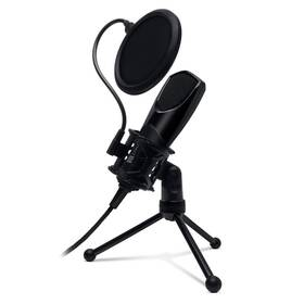 Mikrofon Connect IT YouMic s POP filtrem, USB (CMI-8001-BK) černý