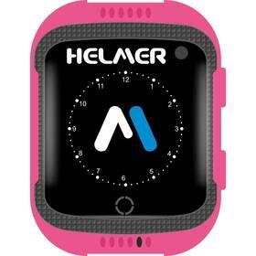 Chytré hodinky Helmer LK 707 dětské s GPS lokátorem - ZÁNOVNÍ - 12 měsíců záruka růžový