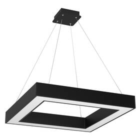 Závěsné svítidlo IMMAX NEO CANTO SMART 80x80cm 60W Zigbee 3.0 (07073L) černé
