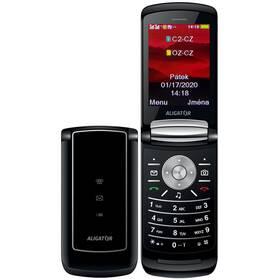 Mobilní telefon Aligator DV800 Dual SIM (ADV800B) černý