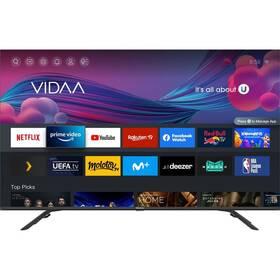 Televize Hisense 50E76GQ černá/šedá