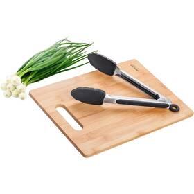 Kuchyňské prkénko Lamart se silikovými kleštěmi (LT2060)