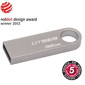 USB Flash Kingston DataTraveler SE9 32GB (DTSE9H/32GB) kovový