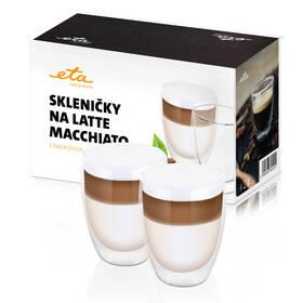 Skleničky na latte macchiato ETA 4181 91020 sklo