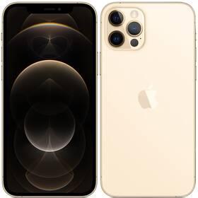 Mobilní telefon Apple iPhone 12 Pro 256 GB - Gold (MGMR3CN/A)